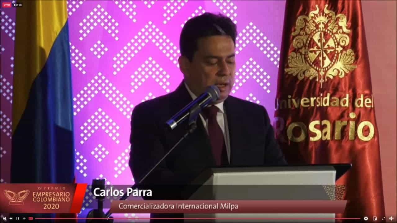 El Premio Empresario Colombiano 2020 fue para el boyacense Miguel Parra 3