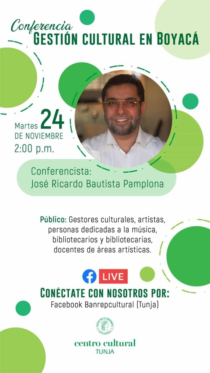 El Centro Cultural del Banco de la República realiza hoy conferencia sobre gestión cultural 2
