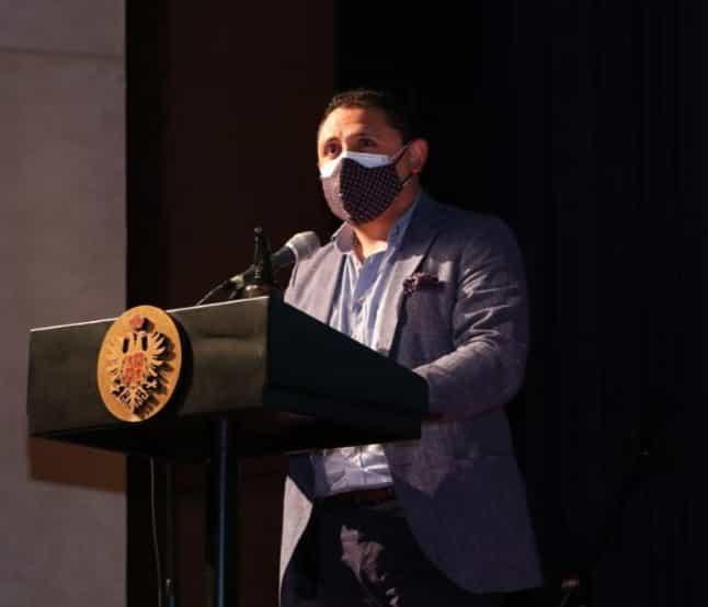 El alcalde de Tunja Alejandro Fúneme convocó a los empresarios y representantes de los sectores público y privado para sacar adelante la edición 65 del Aguinaldo Boyacense 1