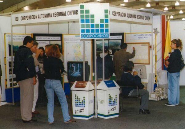 La presencia institucional ha llevado a la Corporación Autónoma Regional de Chivor, a participar en diferentes eventos del orden regional, nacional y hasta internacional, en estos 25 años.