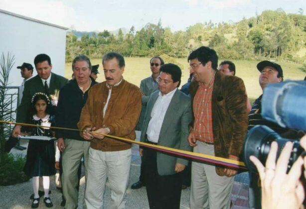 Luego de tres años en obra, en el 2000 fue inaugurado Centro de Servicios Ambientales (Cesam), por parte del entonces presidente de la República, Andrés Pastrana Arango.