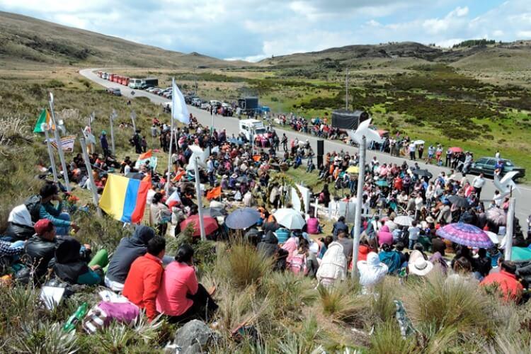 Se prepara la XIII peregrinación en conmemoración de la masacre del Páramo de La Sarna 1