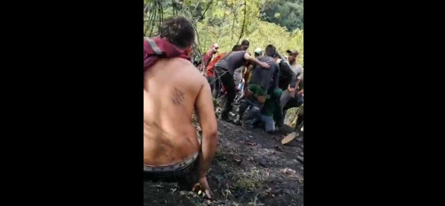 Guaqueros se enfrentaron con vigilancia en mina de esmeraldas de Muzo 2