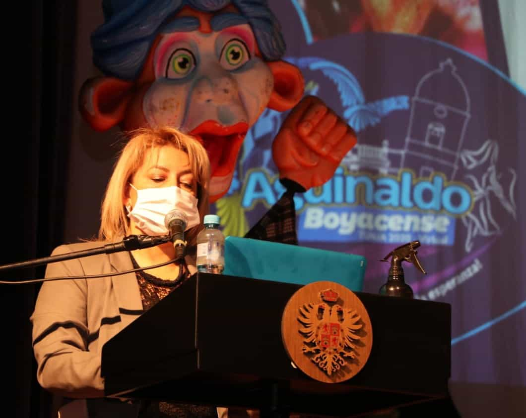 El alcalde de Tunja Alejandro Fúneme convocó a los empresarios y representantes de los sectores público y privado para sacar adelante la edición 65 del Aguinaldo Boyacense 3