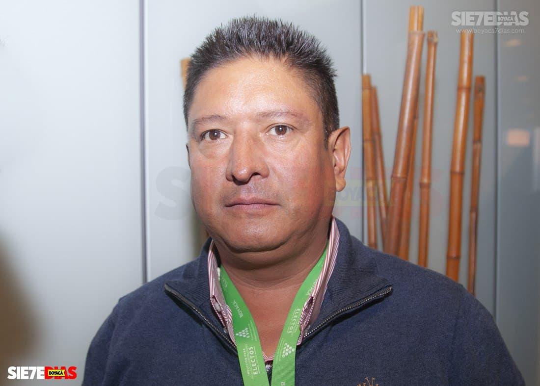 William Eusebio Correa Durán - alcalde Socotá 2020 - 2023. Foto: Luis Lizarazo / archivo Boyacá Siete Días.
