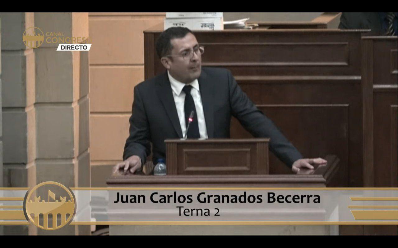 Juan Carlos Granados, ahora magistrado de la Comisión Nacional de Disciplina Judicial 1