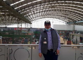 Alfredo Díaz Gómez, gerente de la Central de Abastos del Oriente Colombiano (Coomproriente). Foto: archivo particular