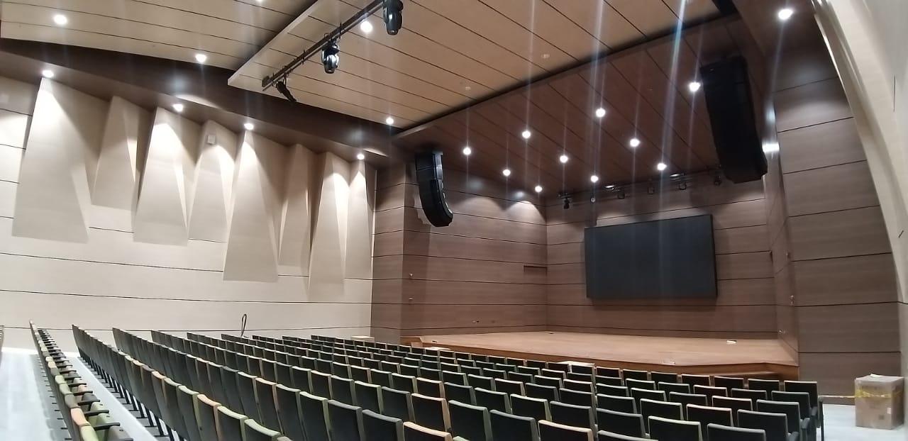 Con innovadora dotación este auditorio sigue fortaleciendo el casco histórico de la ciudad de Tunja. Fotografía Archivo particular.
