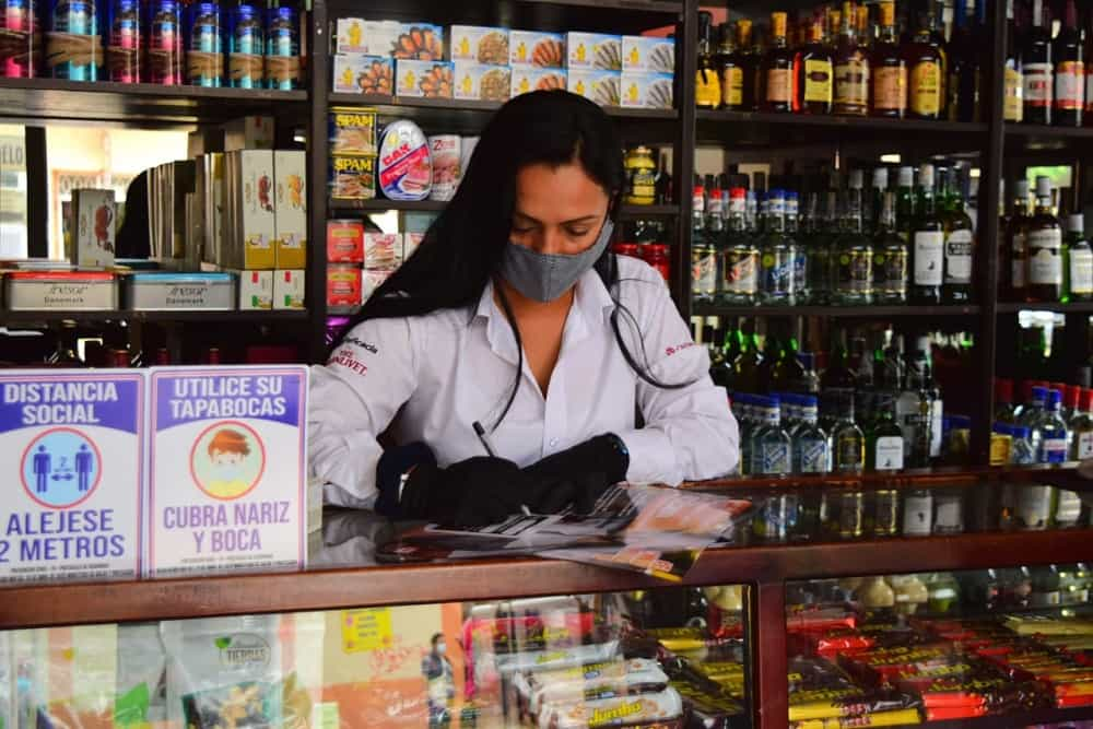 El comercio de Sogamoso busca su reactivación económica con apoyo de la entidad mercantil. Foto: Prensa Alcaldía de Sogamoso