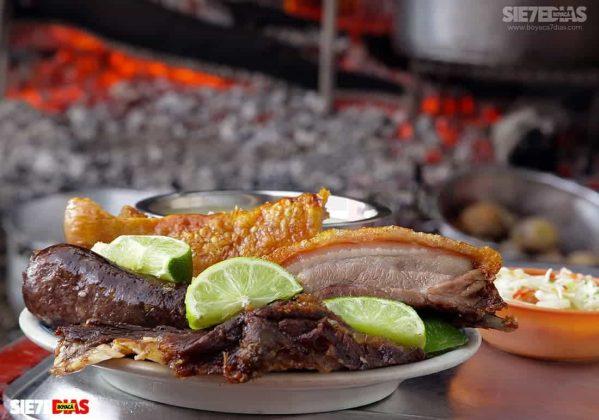 La carne asada prácticamente es sinónimo del año nuevo en el departamento de Boyacá. Foto: archivo Boyacá Sie7e Días