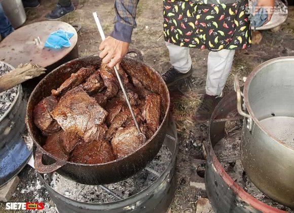 La forma en la que se cocine es lo de menos, lo importante es que el primero de enero siempre hay comida para dar y convidar. Foto: archivo Boyacá Sie7e Días