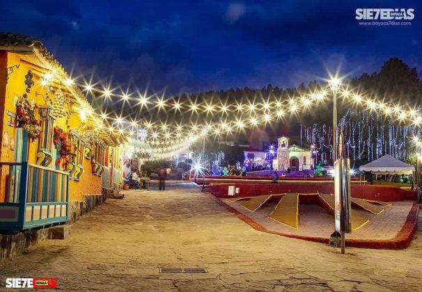 Así se han vivido diciembres pasados en medio de esta postal boyacense. Navidades inolvidables en Duitama. Foto: Luis Lizarazo / archivo Boyacá Siete Días.