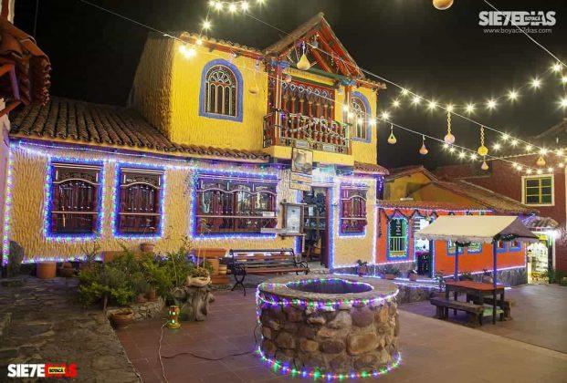 En un año los turistas podrán volver a disfrutar del pueblo de los pueblitos. Foto: Luis Lizarazo / archivo Boyacá Siete Días.
