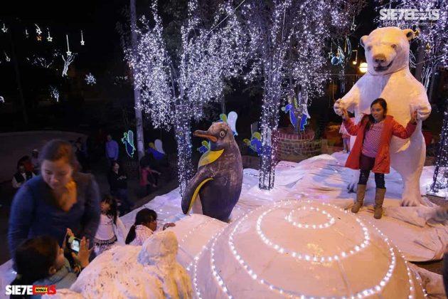Navidades inolvidables en Duitama. Foto: Luis Lizarazo / archivo Boyacá Siete Días.