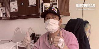 Alcalde de Socotá, en plena recuperación de su cirugía a corazón abierto. Foto: Archivo Particular