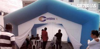 El trabajo de Comfaboy en favor de los desempleados y las empresas en medio de la emergencia. Foto: Archivo Particular