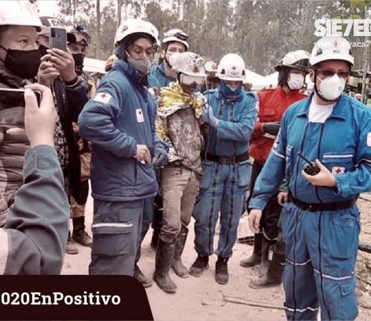 'Vuelven a la vida' tres mineros que estuvieron atrapados tres días en una mina de carbón en Tuta.