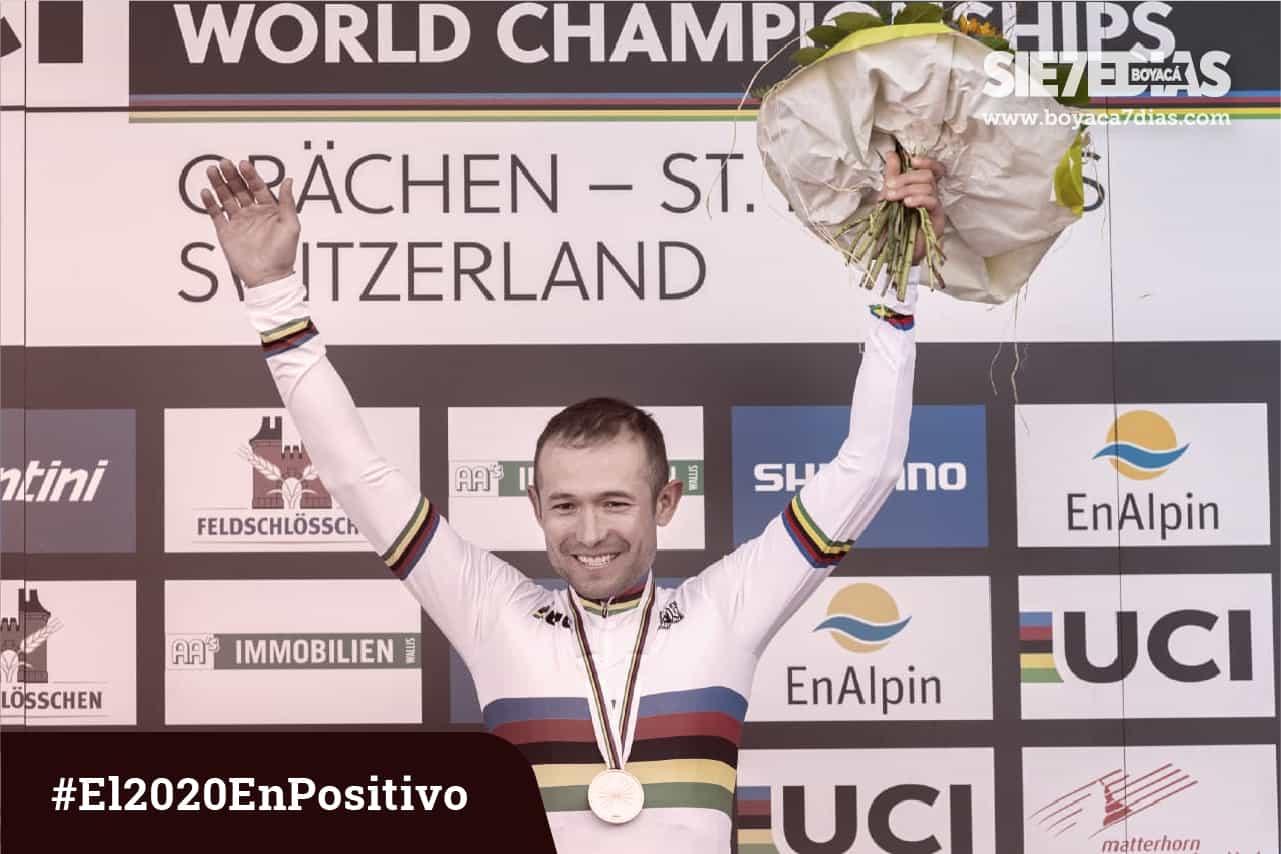 El colombiano Leonardo Páez, otra vez, campeón mundial de maratón.