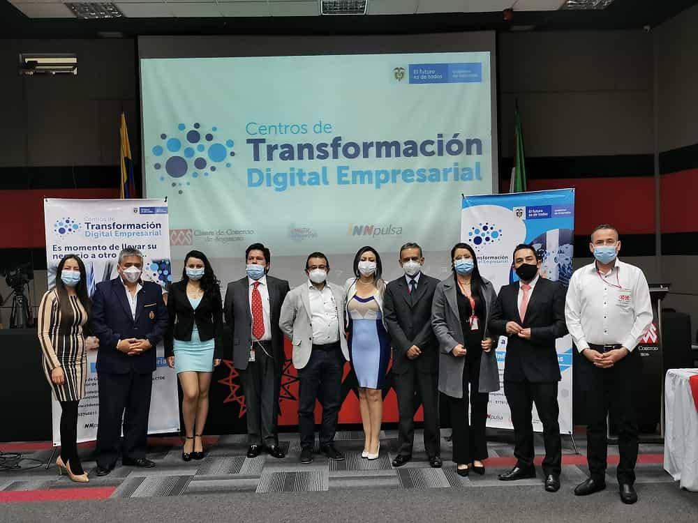 Lanzamiento de la segunda fase del Centro de Transformación Digital Empresarial de la entidad mercantil. Foto: Prensa CCS