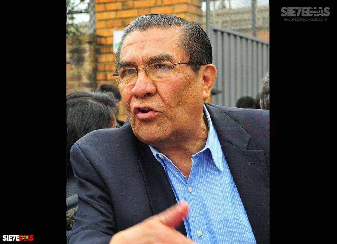 Héctor Julio Becerra Ruiz - Exalcalde de Duitama. Fotografía Boyacá Sie7e Días.