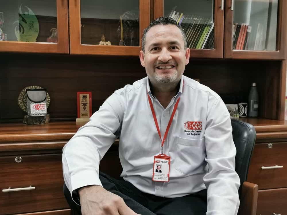 Henry Valcárcel Vega, presidente ejecutivo de la Cámara de Comercio de la ciudad de Sogamoso. Foto: Prensa CCS
