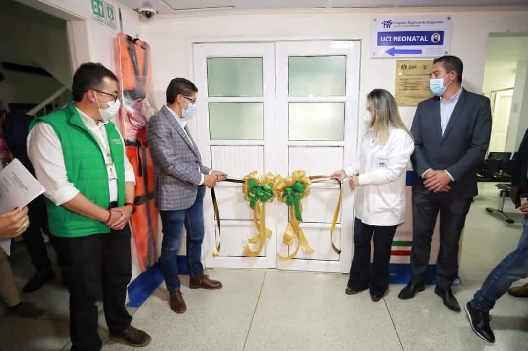Hospital de Sogamoso ya cuenta con unidad de cuidado intensivo neonatal 1