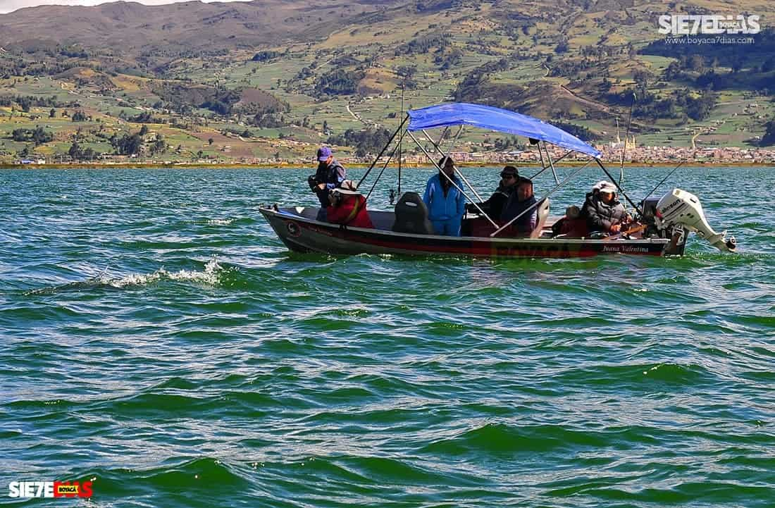Fallo de tutela pone a responder a todos los actores del lago de Tota para su cuidado. Foto: archivo Boyacá Sie7e Días