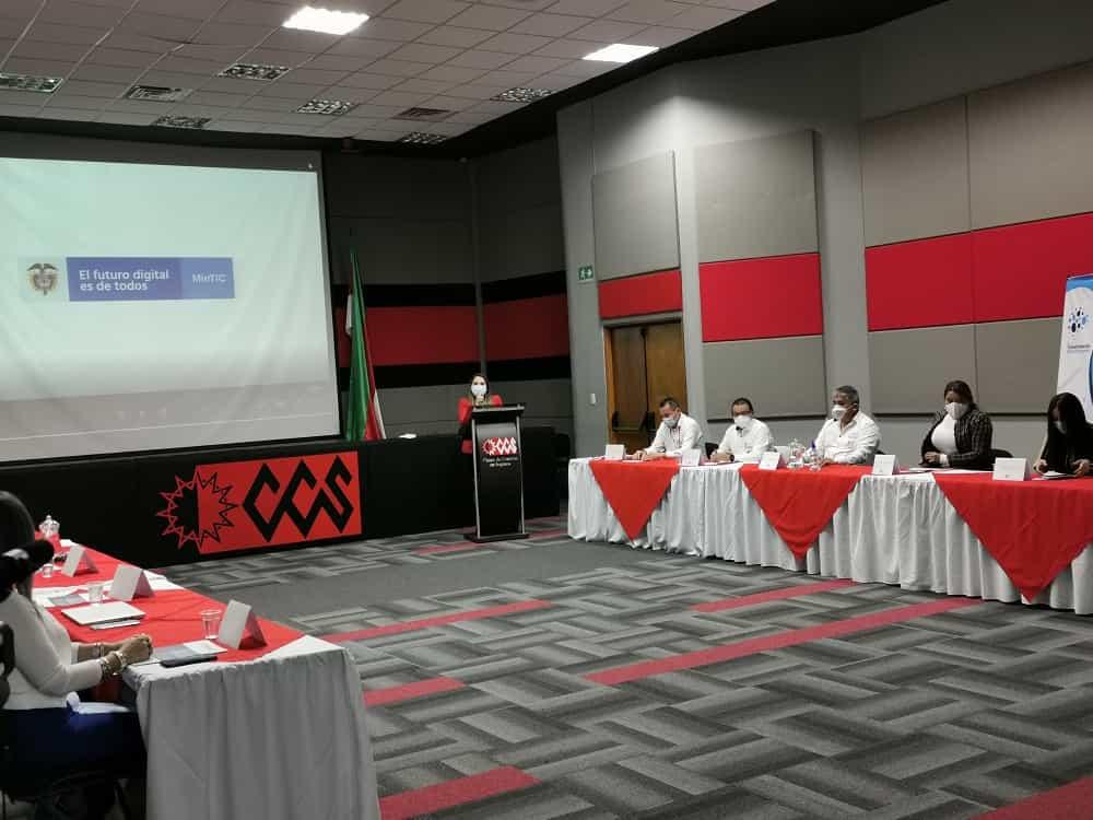 El pasado 2 de diciembre se hizo el lanzamiento del Centro de Transformación Digital Empresarial de la Cámara de Comercio de Sogamoso. Foto: CCS