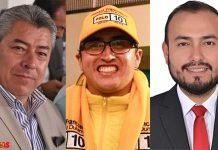 Marco Alonso Rincón, Ronald Franccesco Puentes León y Danilo Rodríguez. Foto: archivo Boyacá Siete Días.