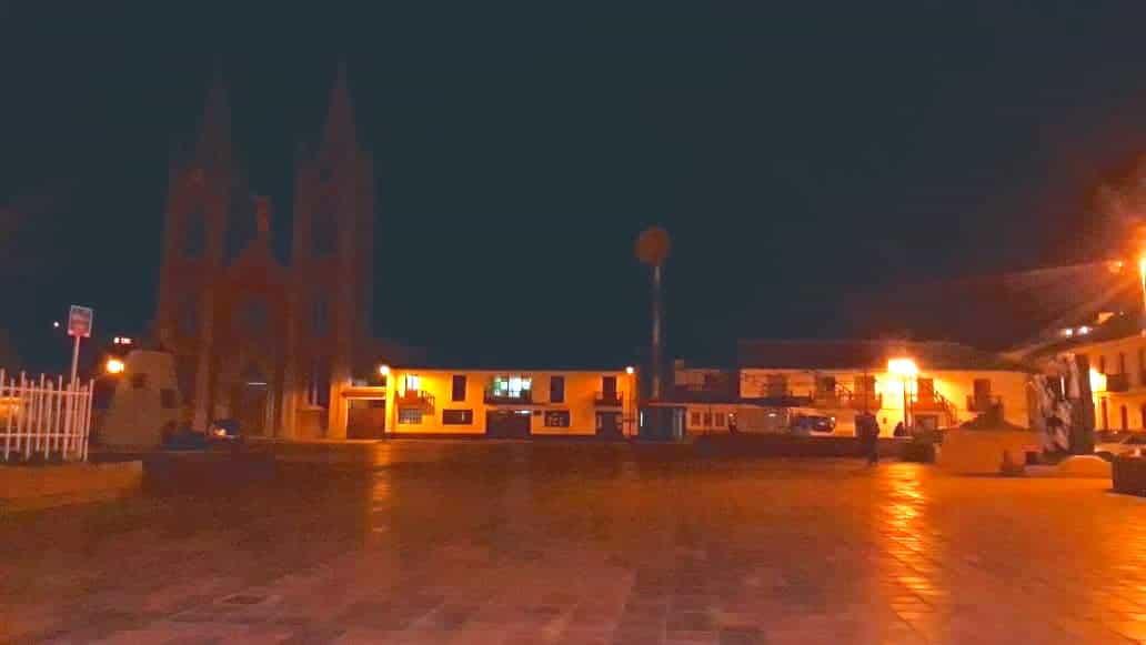 Municipio de Corrales a oscuras. Foto: Archivo Particular