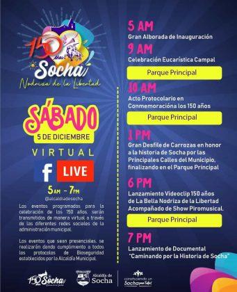 Socha, Nodriza de la Libertad, celebra sus 150 años 3