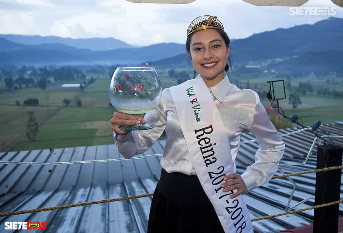 En esta ocasión la Fiesta de Bienvenida a la Vid en el Valle del Sol será virtual y reunirá a todas las reinas del evento. Foto: archivo Boyacá Sie7e Días