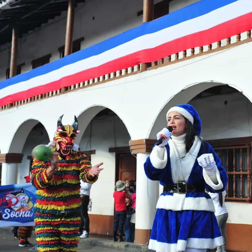 Se lució la alcaldesa de Socha, Zandra María Bernal Rincón #Tolditos7días 1