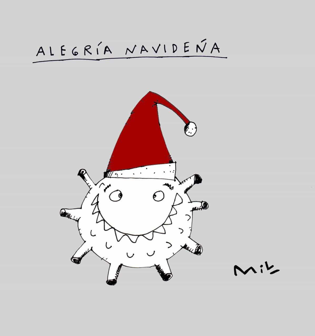 Alegría Navideña - #Caricatura7días 1