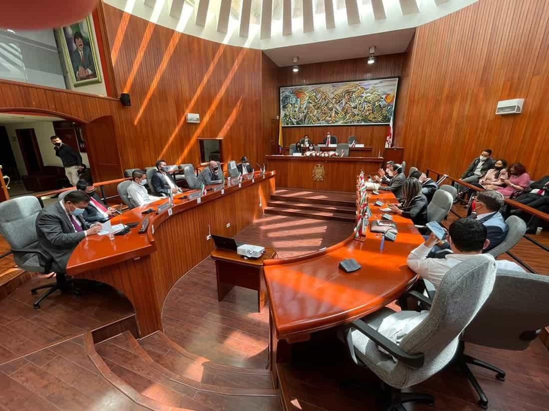Después de todo el proceso, la ordenanza regresará a la Asamblea para la adición de los recursos y luego sigue el proceso contractual o de contratación.
