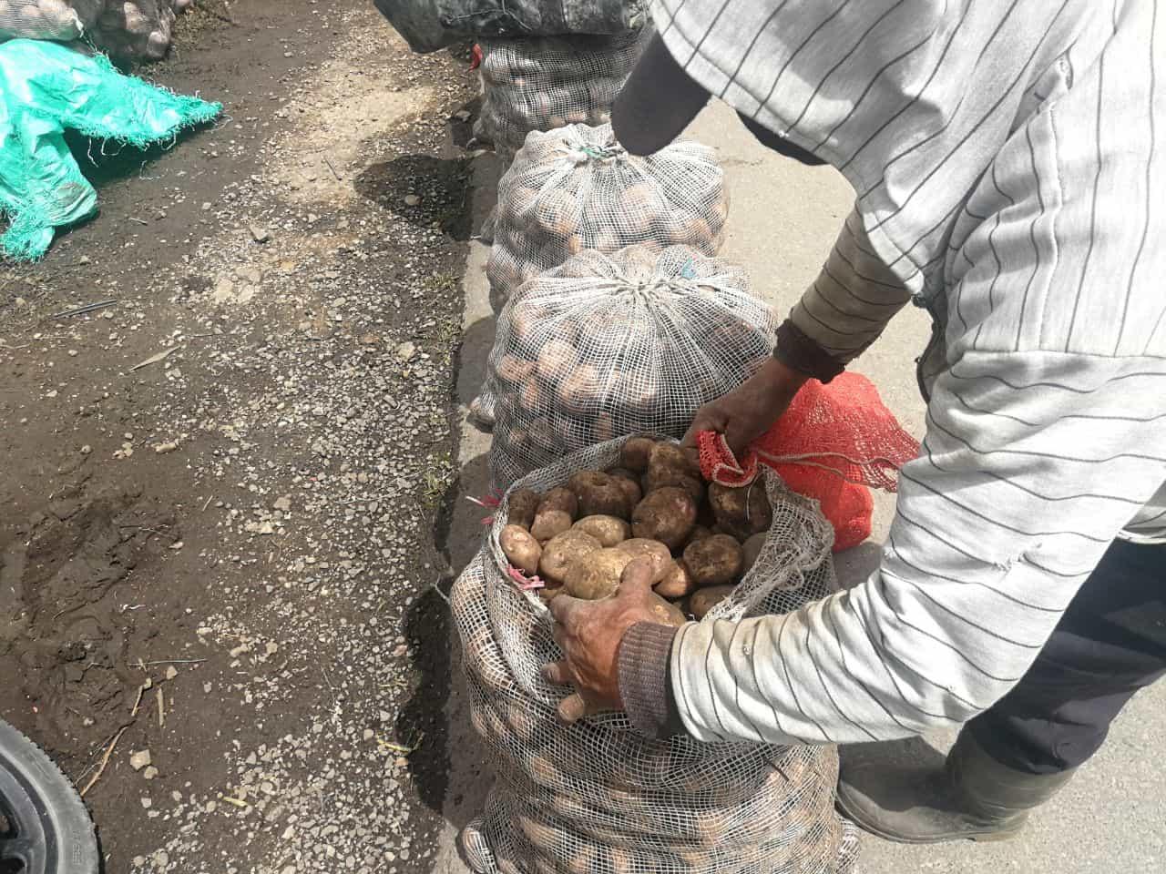 Cambiarán papa por materiales reciclables en Boyacá 1