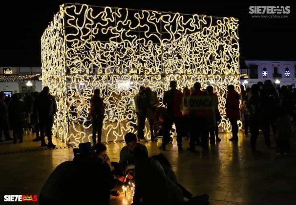 Tunja también se ha adornado con luces de colores para Navidad #AquellosDiciembres 10