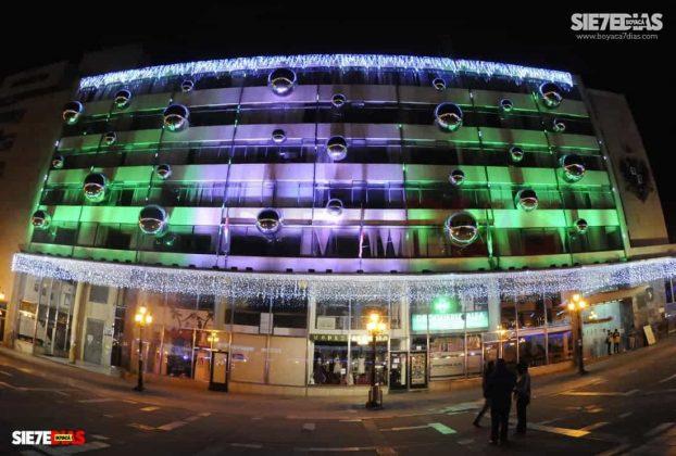 Tunja también se ha adornado con luces de colores para Navidad #AquellosDiciembres 2