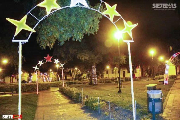 Tunja también se ha adornado con luces de colores para Navidad #AquellosDiciembres 3
