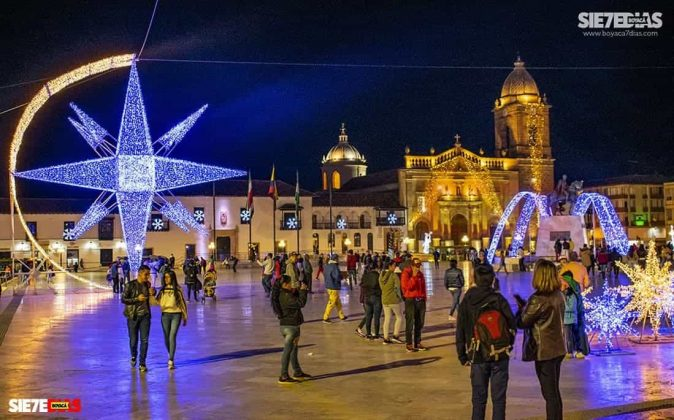 Tunja también se ha adornado con luces de colores para Navidad #AquellosDiciembres 5