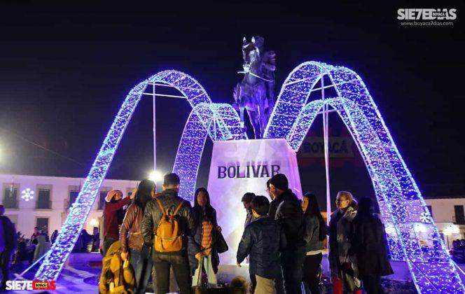 Tunja también se ha adornado con luces de colores para Navidad #AquellosDiciembres 6