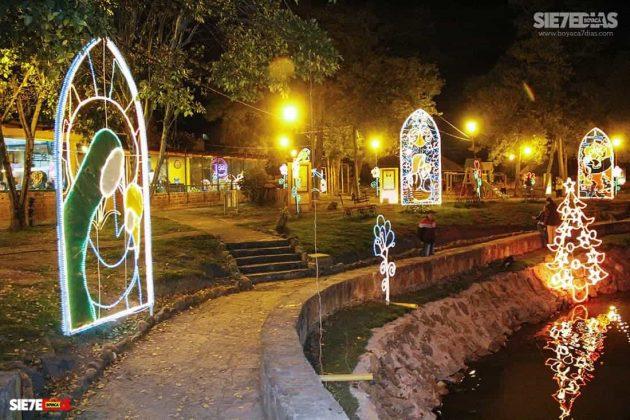 Tunja también se ha adornado con luces de colores para Navidad #AquellosDiciembres 7