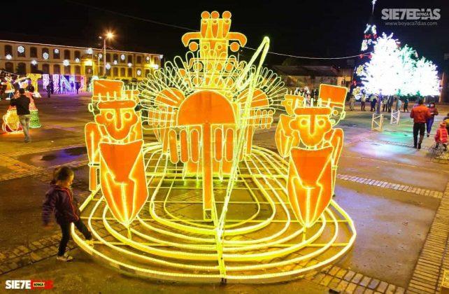 Tunja también se ha adornado con luces de colores para Navidad #AquellosDiciembres 8
