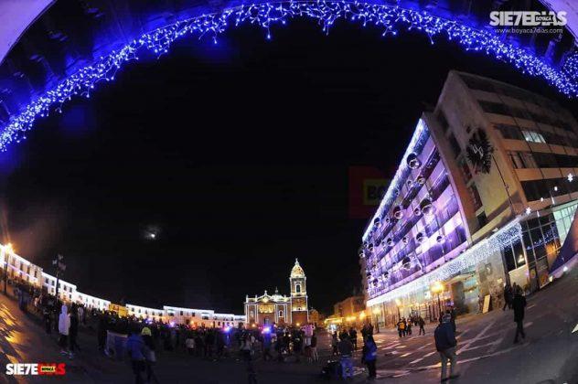 Tunja también se ha adornado con luces de colores para Navidad #AquellosDiciembres 9