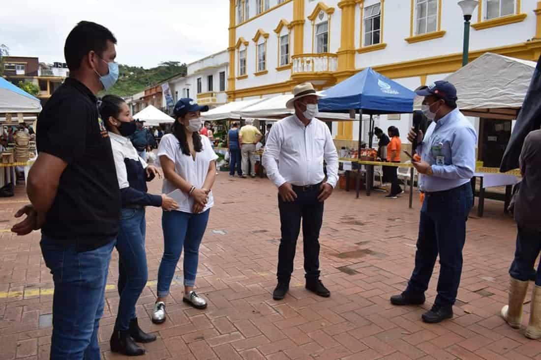 Crisis por el Covid 19 en Moniquirá Boyacá. Fotos: Alcaldía de Moniquirá. Foto: Archivo Particular