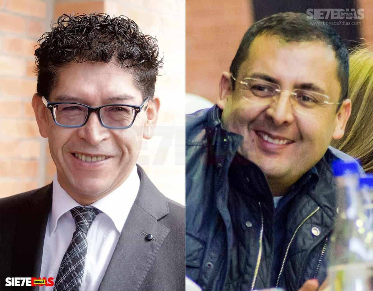 Ramiro Barragán y Juan Carlos Granados. Fotos: archivo Boyacá Siete Días.