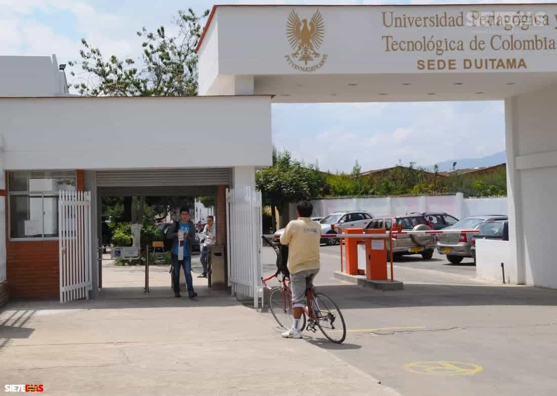 UPTC sede Duitama. Foto: archivo Boyacá Siete Días.