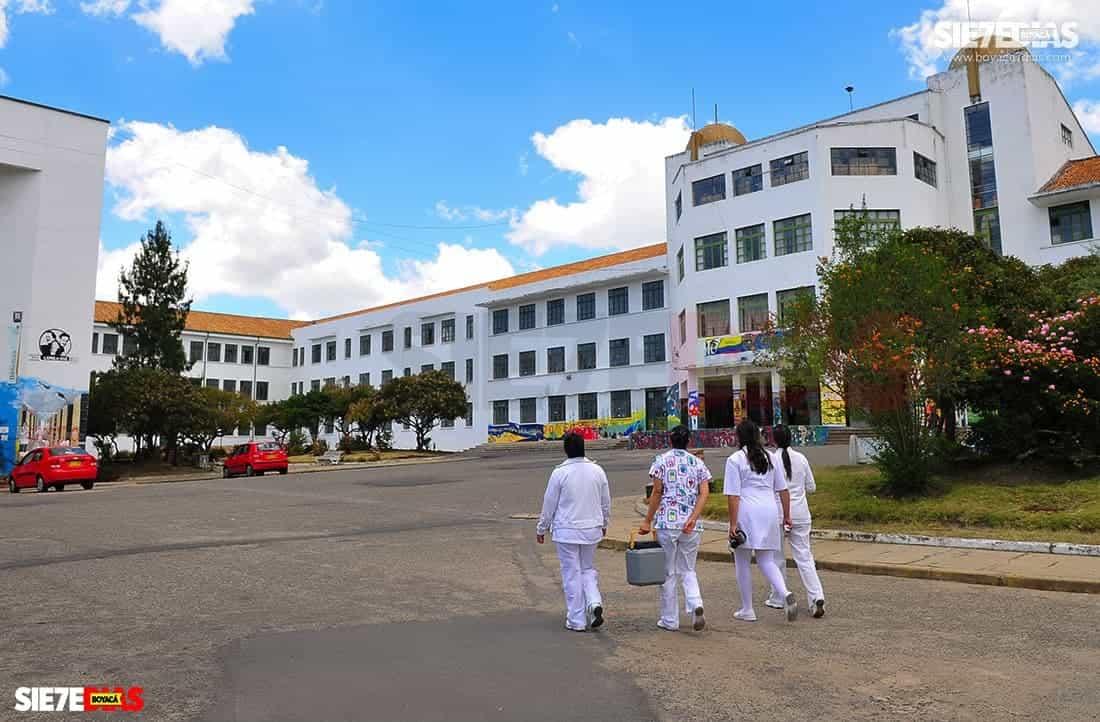 Universidad Pedagógica y Tecnológica de Colombia UPTC, sede principal en Tunja. Foto: archivo Boyacá Siete Días.