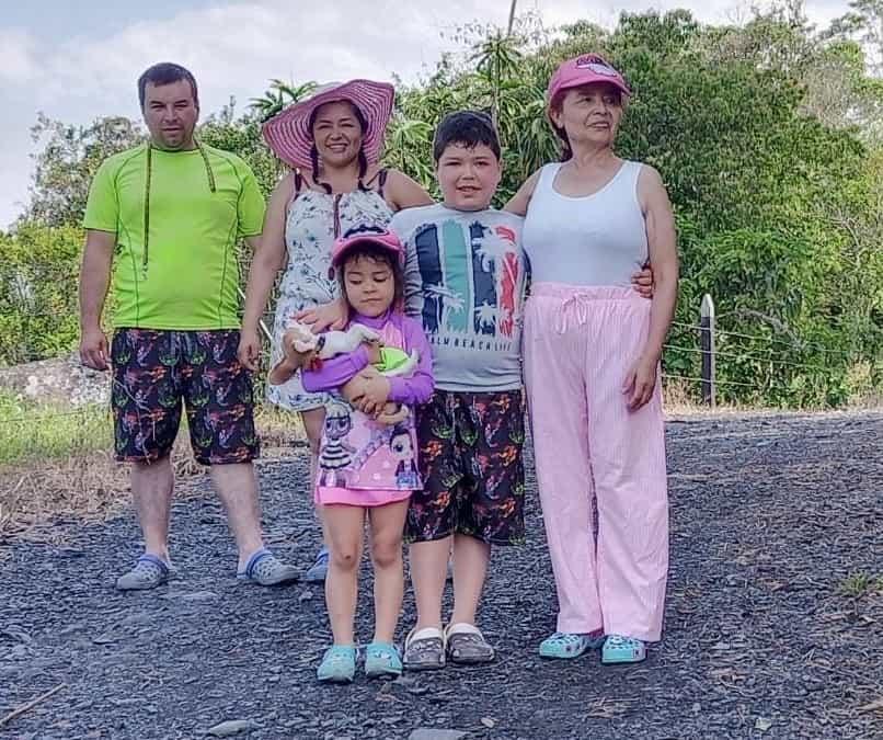 Aparatoso accidente sufrió la comunicadora Paipana Heidy Cusaría Rodríguez y su familia 1