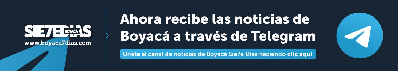 Recibe noticias de Boyacá a través de telegram